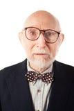 Ausdrucksvoller älterer Mann Lizenzfreies Stockfoto