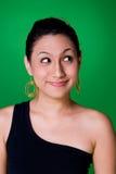 Ausdrucksvolles junges Mädchen Lizenzfreies Stockfoto