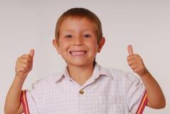 Ausdrucksvolles Kind 10 Stockfoto
