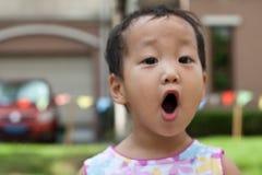 Ausdrucksvolles Kind Stockfotos