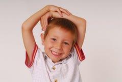 Ausdrucksvolles Kind 21 stockbild