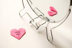 Auseinanderbrechen, Scheidung, ausfallen Verhältnis-Konzept lizenzfreie stockbilder