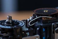 Auseinandergebaute Filmkamera Lizenzfreies Stockfoto