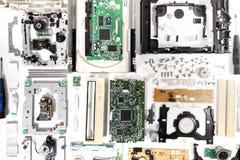 Auseinandergebauter Antrieb DvdrOM lizenzfreies stockbild