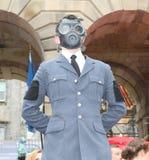 Ausführende an Edinburgh-Fransen-Festival 2014 Lizenzfreies Stockfoto