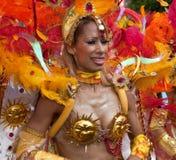 Ausführender im Notting- Hillkarneval 2009 stockfotografie