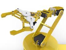 Ausführlich tun Sie es sich Roboterarm vektor abbildung