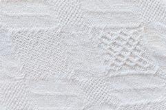 Ausführliche Baumwollbeschaffenheit Stockfotos