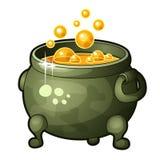 Ausführliche Ikone des Magiers Potion Lizenzfreies Stockfoto