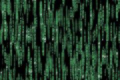 Matrixcode einzeln aufgeführt Lizenzfreie Stockfotos
