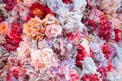 Ausführliche vektorzeichnung Beschaffenheit der Blumen Lizenzfreies Stockfoto