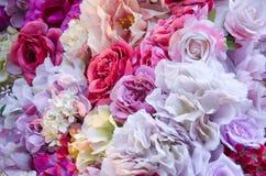 Ausführliche vektorzeichnung Beschaffenheit der Blumen Stockfoto