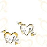 Ausführliche vektorzeichnung Einladung, Hochzeit, Papierkarten dekoratives Muster Beschaffenheit Stockbilder