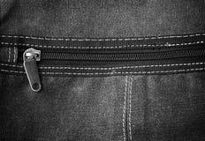 Ausführlicher Jeanstextilhintergrund Lizenzfreies Stockfoto