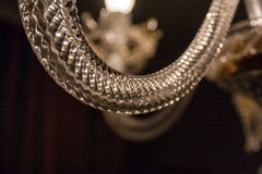 Ausführliches dekoratives Glas Lizenzfreies Stockfoto