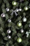 Ausführliches Foto des Weihnachtsbaums Lizenzfreie Stockfotografie