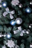 Ausführliches Foto des Weihnachtsbaums Lizenzfreie Stockbilder