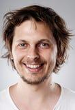 Ausführliches Gesichtsportrait Lizenzfreies Stockbild