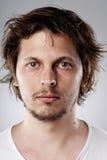 Ausführliches Gesichtsportrait Lizenzfreie Stockfotos