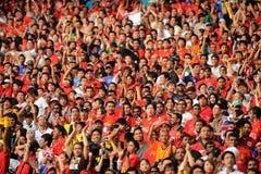 Ausflug 2009 Manchester United-Asien Lizenzfreies Stockbild