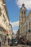 Ausflug de L'horloge touren frankreich Stockbild