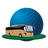 Ausflug des touristischen Busses Lizenzfreie Stockfotos