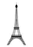 Ausflug Eiffel Stock Abbildung