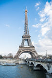 Ausflug Eiffel im Himmel Stockfotografie