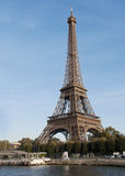 Ausflug Eiffel in Paris Stockbild