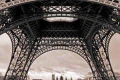 Ausflug Eiffel in Paris Stockbilder