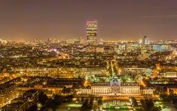 Ausflug Montparnasse und Ecole Militaire Lizenzfreie Stockfotos