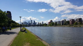 Ausflug nach Frankfurt royaltyfria foton