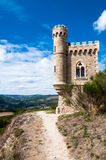 Ausflug und Gehweg Magdala in Rennes le Chateau Stockfotografie