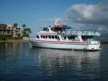 Ausflug-Yacht Stockfotos