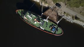 Ausflugschiff Stockfotos