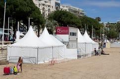 Ausgabe 2012 des Cannes-Filmfestivals 65. Stockbild