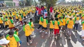 13. Ausgabe des großen äthiopischen Laufs Stockbilder