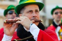 140. Ausgabe des Karnevals von Viareggio Stockbild