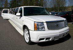 Ausgaben-Limousine Cadillacs Escalade Kalifornien Stockfotografie