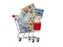 Ausgabengeld Lizenzfreie Stockfotos