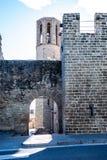 Ausgang des Klosters stockbild