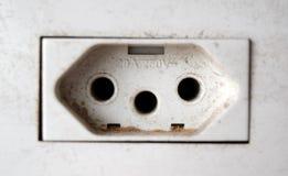 Ausgang des Volts 10A-250V Stockfotos