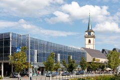 Ausgang-Stadt Metzingen lizenzfreie stockfotografie