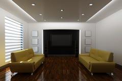 Ausgangsinnenraum mit Sofa Lizenzfreie Stockbilder