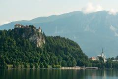 Ausgeblutetes Schloss Lizenzfreies Stockbild