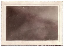 Ausgebogtes Weinlese-Foto-Portrait abgedeckt Lizenzfreies Stockfoto