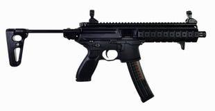 Ausgedehnter Vorrat AR-Art 9mm SBR Stockfoto