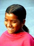 Ausgedehntes Lächeln stockbild