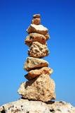 Ausgeglichene Felsen Stockfoto