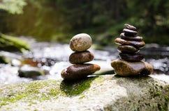 Ausgeglichene Paare Stockbilder
